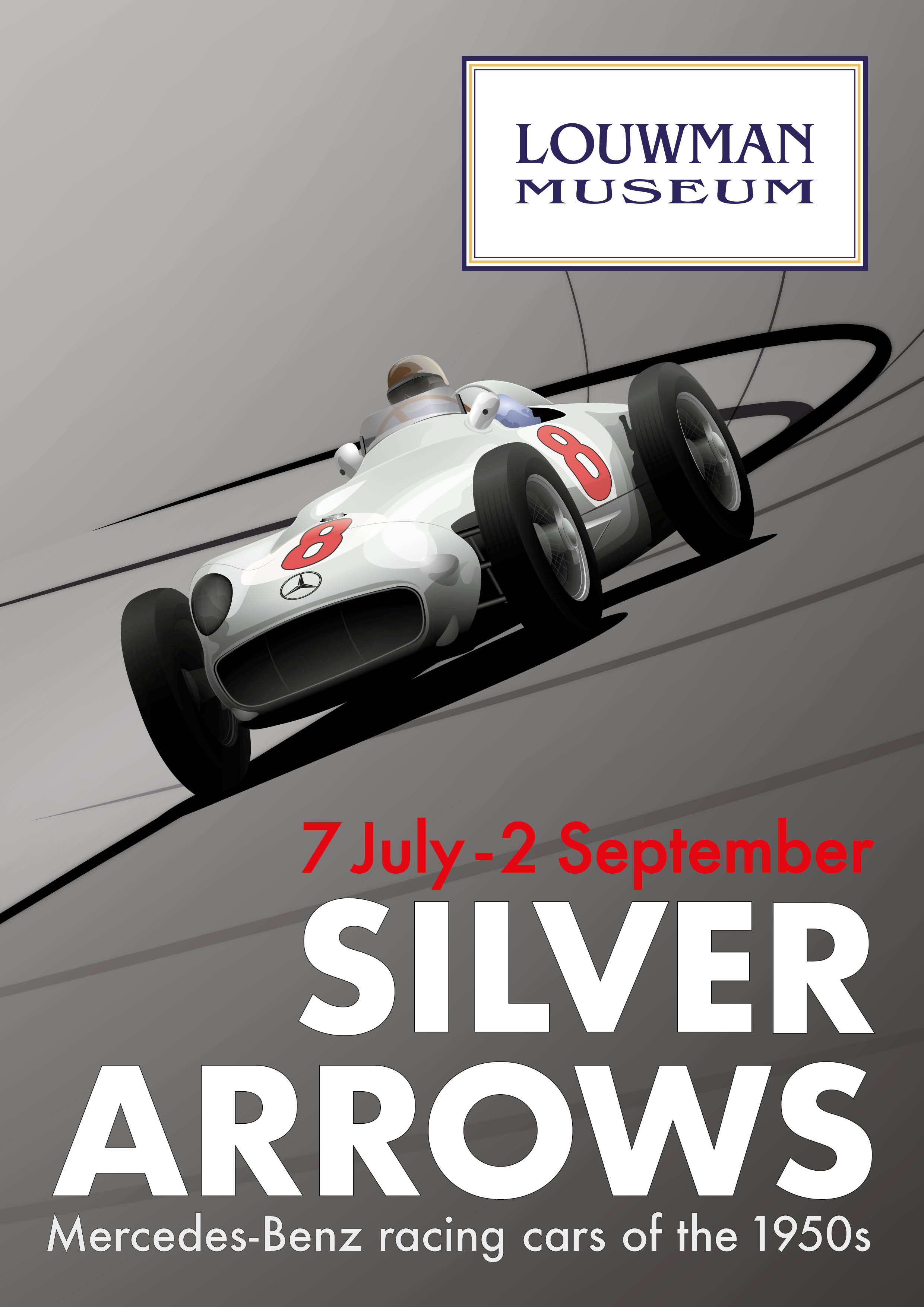 Silver Arrows, Mercedes-Benz Racing Cars of the 1950s
